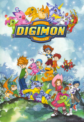 Digimon Advanture S1 انمي
